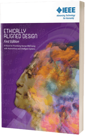 Ethically Aligned Design, First Edition Cover